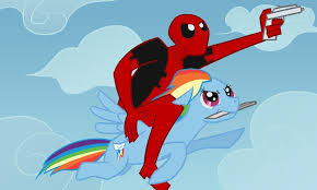 Resultat d'imatges de deadpool my little pony