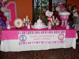 Cake Table Decoration Birthday Party Organisers First Birthday Party Organisers