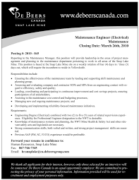 maintenance electrician resume example 1 ilivearticles info maintenance electrician resume example 1