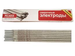71/6/18 Сварочный <b>электрод РЕСАНТА МР-3 Ф5</b>,0 Пачка 3 кг ...