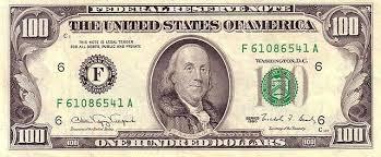 Billetes de dólar estadounidense
