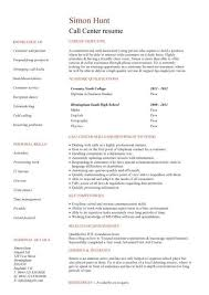 Call centre CV sample, High energy, resilience, and excellent time ...