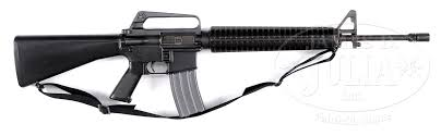 classic and original colt m16a1 machine gun fully transferable zoom