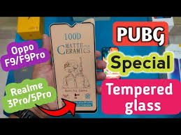 <b>Matte</b> finish <b>Tempered Glass for</b> Realme 3 Pro/5 Pro ,Oppo F9/F9 ...