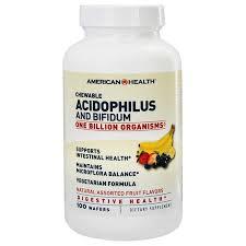 American Health <b>Acidophilus and Bifidum Chewable</b> Fruit - 100 ...