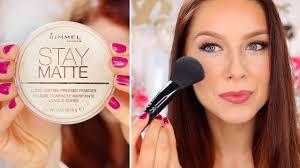Rimmel Stay <b>Matte</b> Pressed <b>Powder</b> | WEAR TEST - YouTube