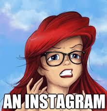 Hipster Ariel HD memes | quickmeme via Relatably.com