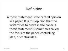 good thesis research question Can a thesis statement be a question in a research paper FC