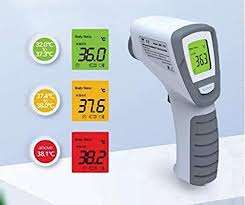 IR Infrared Digital Non-Contact Thermometer Gun with ... - Amazon.com
