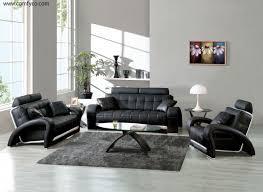 room sofa set black