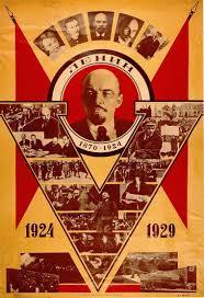propaganda celebrating the 5th anniversary of lenin s death ussr propaganda celebrating the 5th anniversary of lenin s death ussr