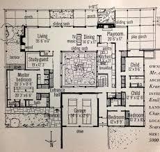 Inspiration  Retro Home Magazine Features Mid Century Modern    courtyardhouse