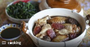 Chinese clay <b>pot</b> rice with sausage and mushrooms - recipe   SCMP ...