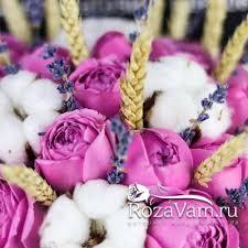 Купить <b>пионовидные розы</b> в Москве недорого, доставка <b>букета</b> ...