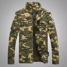 【Ready Stock】<b>Camouflage Tooling</b> Collar Military Uniform <b>Men's</b> ...