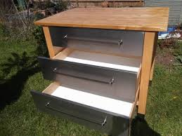 appealing ikea varde: ikea varde kitchen unit with  stainless steel drawers for sale in exminster devon