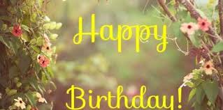 Image result for happy birthday nature