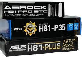 Обзор и тестирование <b>материнских</b> плат <b>ASRock H81</b> PRO BTC ...