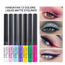 <b>HANDAIYAN 12 Colors</b> Waterproof Shimmer Pigment <b>Liquid</b> ...
