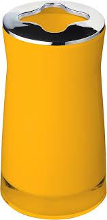 <b>Стакан</b> Ridder Disco 2103204 для <b>зубных щеток</b>, желтый купить в ...