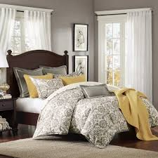 yellow and gray bedroom: yellow and grey bedroom decor interior design ideas beautiful