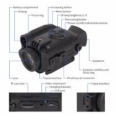 <b>ZIYOUHU</b> HD Multi function <b>Digital</b> Night <b>Vision</b> Monocular Pocket ...