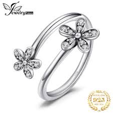 <b>JewelryPalace Dog Paw Cubic</b> Zirconia Rings 925 Sterling Silver ...
