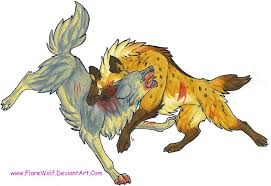 Image result for dragon fighting hyena