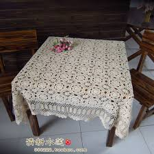 rectangular dining table cover cloth knitted vintage: free shipping hot selling  cotton hand knitting crochet tablecloth xcm table cover table cloth