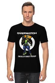 "<b>Футболка классическая</b> ""<b>Overwatch</b>. Лусио"" #2154507 от geekbox ..."