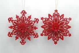"""Новогоднее <b>украшение</b> """"<b>Снежинка</b>"""" (цвет: красный, 12,7 см ..."""