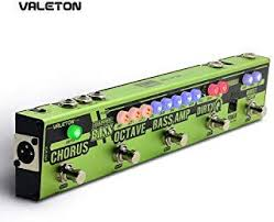 valeton dapper amp mini effect strip pedal with tuner amplifier effects reverb module plus 9v dc 1 power supply mes 6
