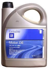 <b>Моторное масло GENERAL MOTORS</b> Dexos2 Longlife 5W30 5 л