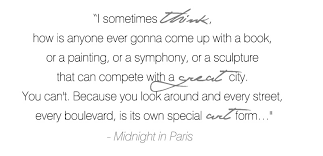 Midnight in Paris Quotes. QuotesGram