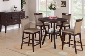 tall dining chairs counter: counter height black dining set tall dining room table and chairs counter height dinette