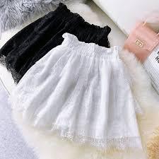<b>Faldas Mujer Moda 2019</b> Sexy Lace Skirt Elastic Waistband Mesh ...