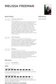 pharmacy technician resume samples   visualcv resume samples databasepharmacy technician resume samples