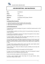 resume sample   waitress duties resume sample template waitress        resume sample waitress job duties for resume waitress duties resume sample template