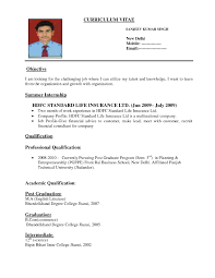 standard resume template com standard resume template to inspire you how to create a good resume 14
