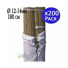 Natural <b>Bamboo</b> Guardian <b>180</b> cm, 12-14 mm diameter. 200 units
