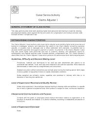 insurance claims adjuster training insurance adjuster job description claims adjuster resume sample