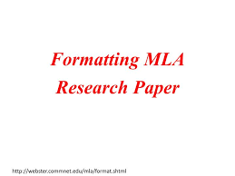 Sociology research paper outline mla