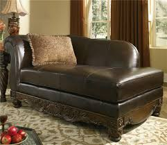 furniture t north shore: millennium north shore dark brown upholstered chaise item number