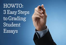 howto  easy steps to grading student essays