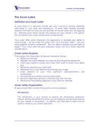 definition for cover letter template definition for cover letter