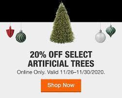 <b>Artificial Christmas Trees</b> - Christmas Trees - The Home Depot