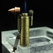 2019 Creativ Bullet Shape <b>Jet</b> Torch Lighter Windproof Flame ...