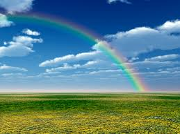 Picture of a rainbow