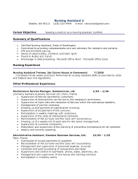 career objective seeking job position as a nursing assistant career objective seeking job position as a nursing assistant certified resume example exp