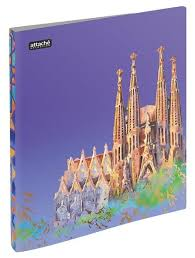 Купить <b>Папка</b> с зажимом <b>Attache Selection Travel</b> Spain А4+ 0.5 ...